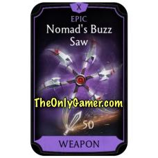 Nomads Buzz Saw