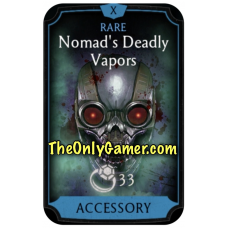 Nomads Deadly Vapors