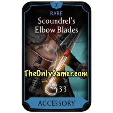 Scoundrels Elbow Blades
