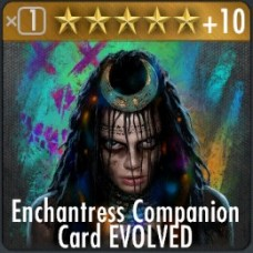 Enchantress Companion Card EVOLVED
