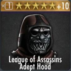 League of Assassins Adept Hood