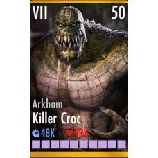 Arkham killer croc