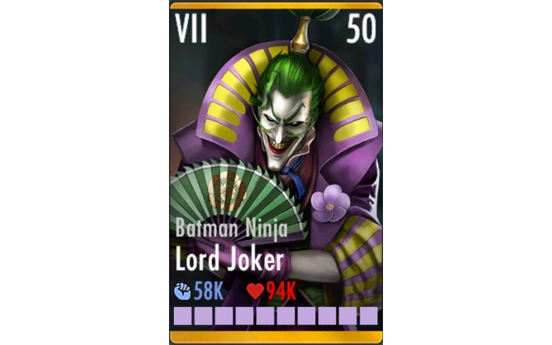 Batman Ninja Lord Joker