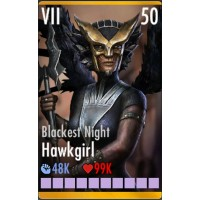 Blackest Night Hawkgirl