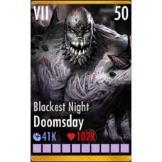 Doomsday Blackest Night