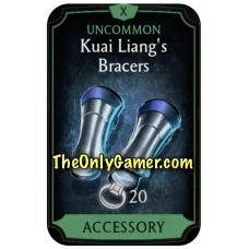 Kuai Liangs Bracers