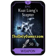 Kuai Liangs Scepter