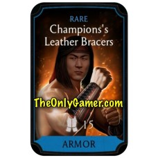 Champions Leather Bracers