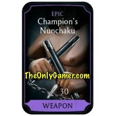 Champions Nunchaku