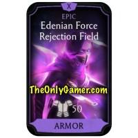 Edenian Force Rejection Field