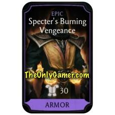 Specter's burning Vengeance